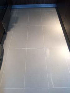 clean kitchen tile grout floor by nuvoclean