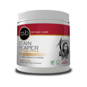 stone stain remover poultice