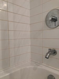 tile tub surround wall grout restoration caulking repair