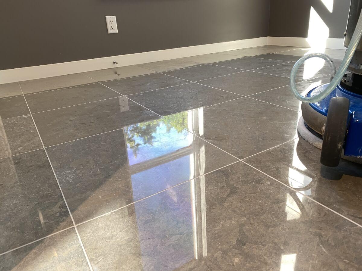 limestone floor refinishing vancouver
