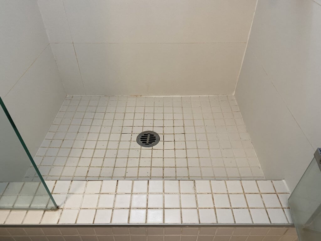 shower stall repair vancouver before