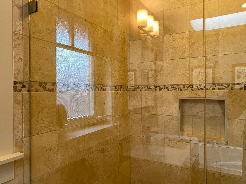 shower glass soap film after 2