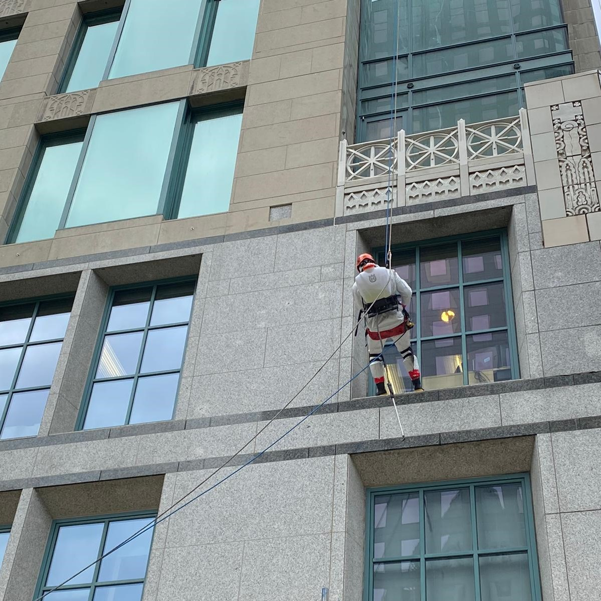 nuvoclean building facade cleaning